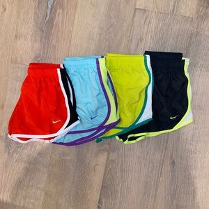 Girls' Nike Shorts Bundle (4)